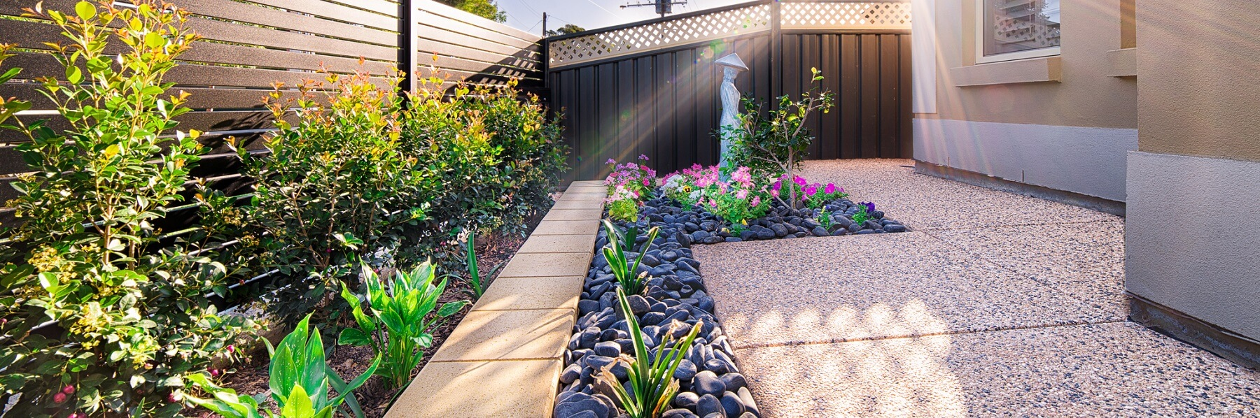 Freeman Landscaping Adelaide, Home Page Slider